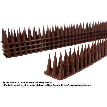 Wall and Roof Spike Pigeon/Cat Detterent   Bird Repellers στο  SECURETECH